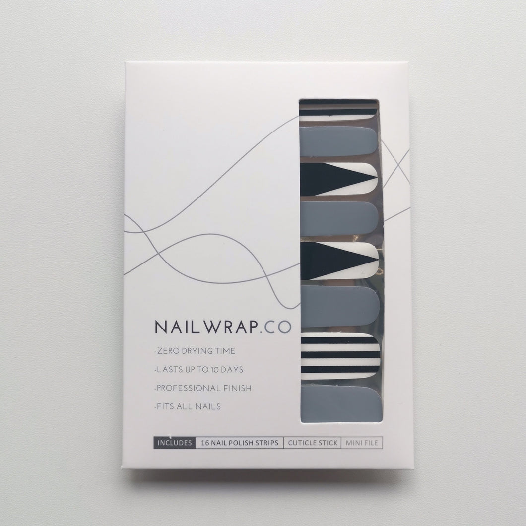 Buy Monochrome Cutout Nail Polish Wraps at the lowest price in Singapore from NAILWRAP.CO. Worldwide Shipping. Instant designer nail art manicure in under 10 minutes.