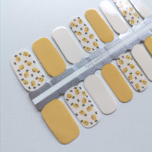 Load image into Gallery viewer, Buy Lauryn Lemon 🍋 Nail Polish Wraps at the lowest price in Singapore from NAILWRAP.CO. Worldwide Shipping. Instant designer nail art manicure in under 10 minutes.