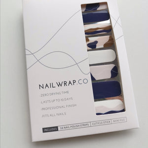 Buy Blue Horizon Nail Polish Wraps at the lowest price in Singapore from NAILWRAP.CO. Worldwide Shipping. Instant designer nail art manicure in under 10 minutes.