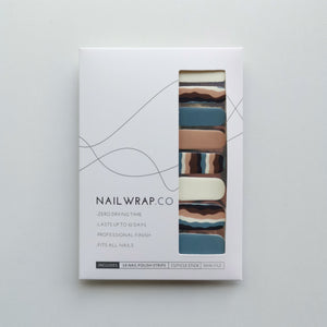 Buy Wavelength Nail Polish Wraps at the lowest price in Singapore from NAILWRAP.CO. Worldwide Shipping. Instant designer nail art manicure in under 10 minutes.