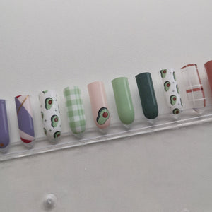 Buy Avo Good Time! 🥑 Nail Polish Wraps at the lowest price in Singapore from NAILWRAP.CO. Worldwide Shipping. Instant designer nail art manicure in under 10 minutes.