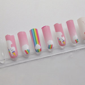 Buy Unicorn Dreams 🌈 Nail Wraps at the lowest price in Singapore from NAILWRAP.CO. We Ship Worldwide. Over 300 designs! Instant designer nail art under 10 minutes