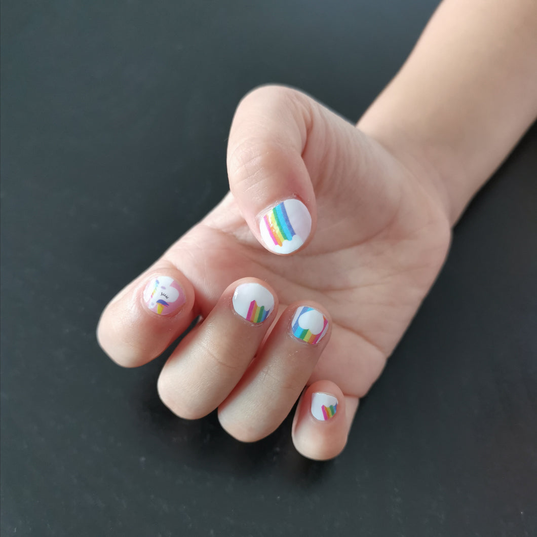 Buy Unicorn Dreams 🌈 Nail Polish Wraps at the lowest price in Singapore from NAILWRAP.CO. Worldwide Shipping. Instant designer nail art manicure in under 10 minutes.
