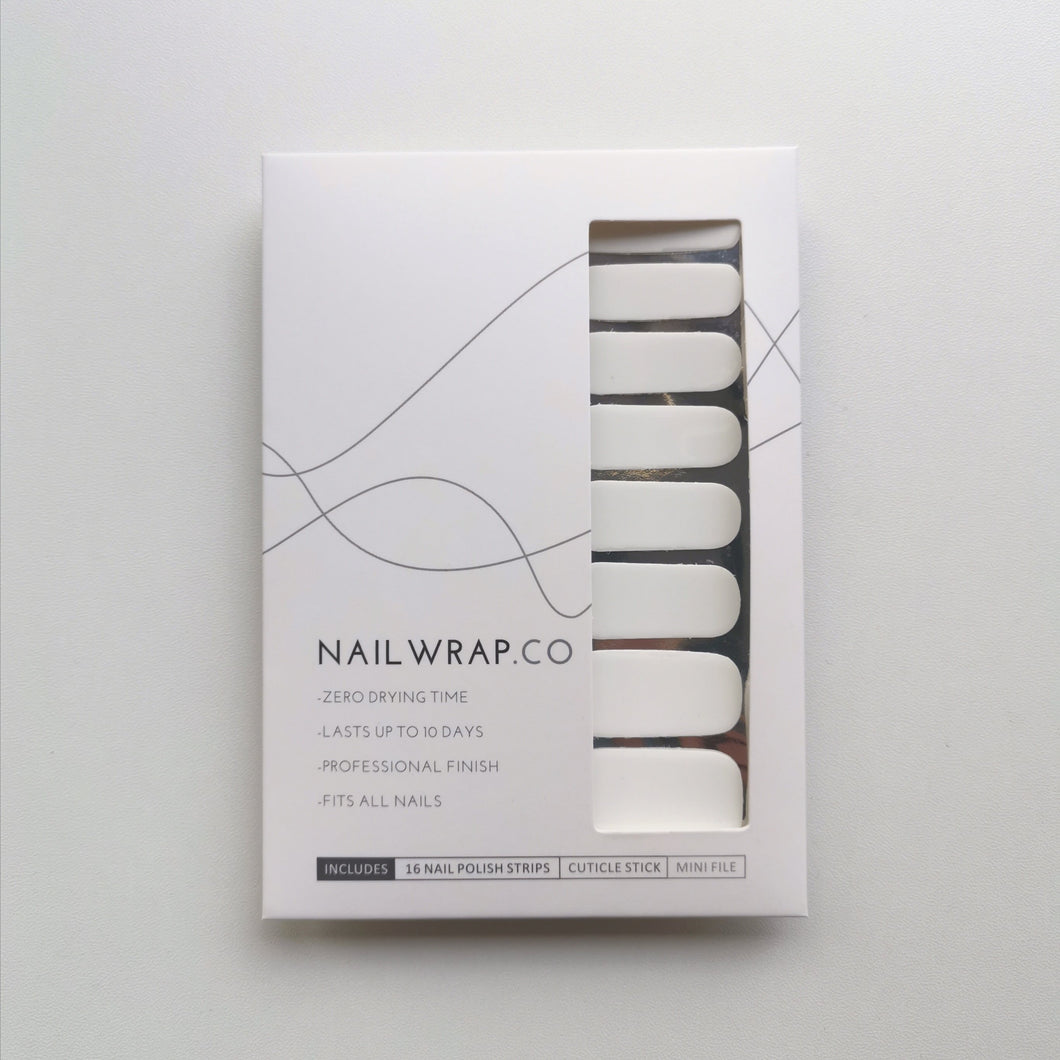 Buy Just White (Solid) Nail Polish Wraps at the lowest price in Singapore from NAILWRAP.CO. Worldwide Shipping. Instant designer nail art manicure in under 10 minutes.