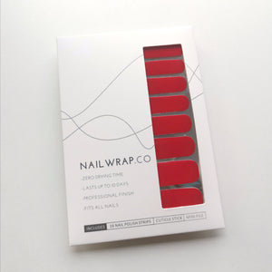 Buy Red Sass (Solid) Nail Polish Wraps at the lowest price in Singapore from NAILWRAP.CO. Worldwide Shipping. Instant designer nail art manicure in under 10 minutes.