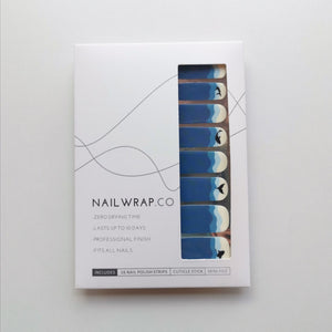 Buy Whaley Blue 🐳 Nail Polish Wraps at the lowest price in Singapore from NAILWRAP.CO. Worldwide Shipping. Instant designer nail art manicure in under 10 minutes.