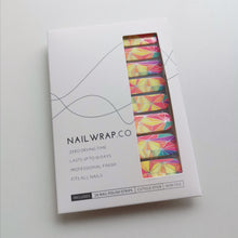 Load image into Gallery viewer, Buy Vivacious Nail Polish Wraps at the lowest price in Singapore from NAILWRAP.CO. Worldwide Shipping. Instant designer nail art manicure in under 10 minutes.
