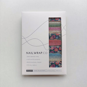 Buy Glitter Meadow Nail Polish Wraps at the lowest price in Singapore from NAILWRAP.CO. Worldwide Shipping. Instant designer nail art manicure in under 10 minutes.