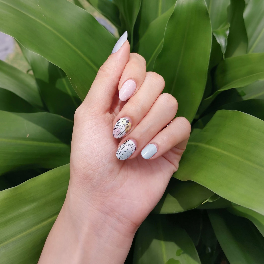 Buy Egg Hunt Nail Polish Wraps at the lowest price in Singapore from NAILWRAP.CO. Worldwide Shipping. Instant designer nail art manicure in under 10 minutes.
