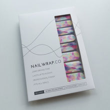 Load image into Gallery viewer, Buy Paddlepop Nail Polish Wraps at the lowest price in Singapore from NAILWRAP.CO. Worldwide Shipping. Instant designer nail art manicure in under 10 minutes.