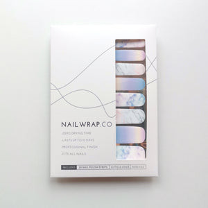 Buy Rainbow Marble Nail Wraps at the lowest price in Singapore from NAILWRAP.CO. We Ship Worldwide. Over 300 designs! Instant designer nail art under 10 minutes