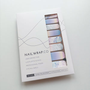 Buy Rainbow Marble Nail Polish Wraps at the lowest price in Singapore from NAILWRAP.CO. Worldwide Shipping. Instant designer nail art manicure in under 10 minutes.