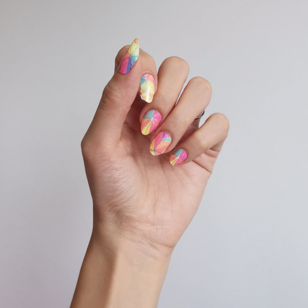 Buy Vivacious Nail Polish Wraps at the lowest price in Singapore from NAILWRAP.CO. Worldwide Shipping. Instant designer nail art manicure in under 10 minutes.