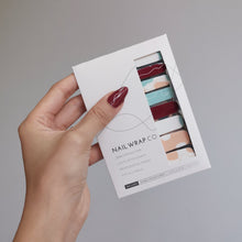 Load image into Gallery viewer, Buy Delilah Abstract Nail Polish Wraps at the lowest price in Singapore from NAILWRAP.CO. Worldwide Shipping. Instant designer nail art manicure in under 10 minutes.