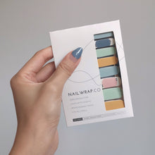 Load image into Gallery viewer, Buy Eyes On You 👀 Nail Polish Wraps at the lowest price in Singapore from NAILWRAP.CO. Worldwide Shipping. Instant designer nail art manicure in under 10 minutes.
