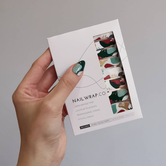 Buy Empress Teal Nail Wraps at the lowest price in Singapore from NAILWRAP.CO. We Ship Worldwide. Over 300 designs! Instant designer nail art under 10 minutes