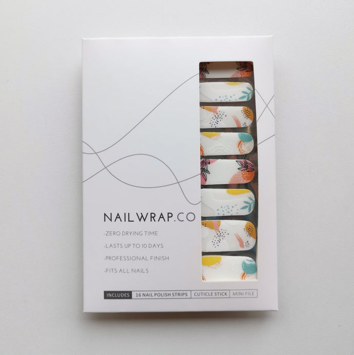 Buy Summer Foliage Nail Polish Wraps at the lowest price in Singapore from NAILWRAP.CO. Worldwide Shipping. Instant designer nail art manicure in under 10 minutes.