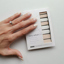 Load image into Gallery viewer, Buy Ethereal Lace Nail Polish Wraps at the lowest price in Singapore from NAILWRAP.CO. Worldwide Shipping. Instant designer nail art manicure in under 10 minutes.