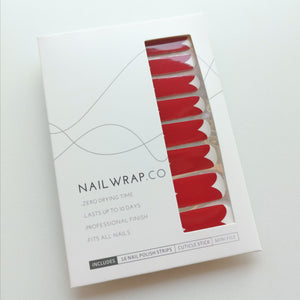 Rosaleen Red Heart - NAILWRAP.CO Nail Wrap Co Nail Wraps Singapore Online SG Nail Stickers Nodspark Freshly Wrapped Freshlywrapped Emmezingnails Yaytonails Yay to Nails Nailedit-wraps Nailed it Gelato Factory Korea United States Australia Personail Itspersonail Nails Mailed Polishpops Cheap DIY Manicure Salon Gelish Acrylic Kids Happie Manufacturer Supplier Wholesale Customized Review