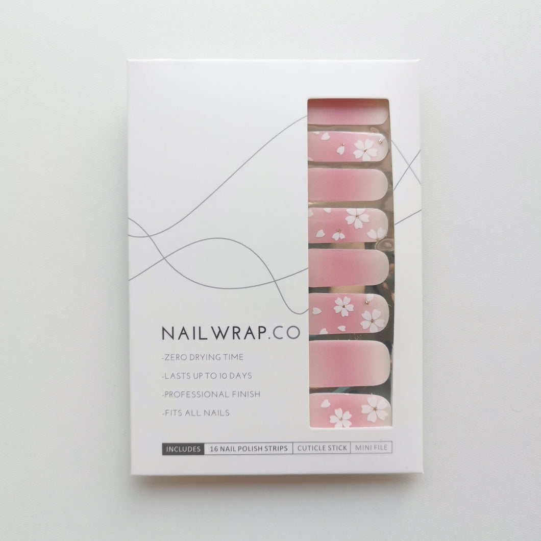 Buy Pink Sakura Nail Polish Wraps at the lowest price in Singapore from NAILWRAP.CO. Worldwide Shipping. Instant designer nail art manicure in under 10 minutes.