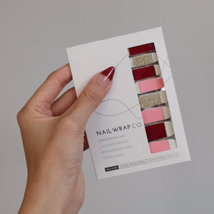 Buy Sugar Coated Nail Polish Wraps at the lowest price in Singapore from NAILWRAP.CO. Worldwide Shipping. Instant designer nail art manicure in under 10 minutes.