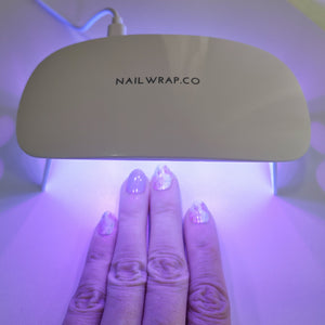Buy Peel Off Gel Top Coat + UV Led Lamp Bundle Nail Polish Wraps at the lowest price in Singapore from NAILWRAP.CO. Worldwide Shipping. Instant designer nail art manicure in under 10 minutes.