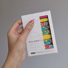 Load image into Gallery viewer, Buy Graffiti Art Nail Polish Wraps at the lowest price in Singapore from NAILWRAP.CO. Worldwide Shipping. Instant designer nail art manicure in under 10 minutes.