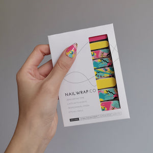 Buy Graffiti Art Nail Polish Wraps at the lowest price in Singapore from NAILWRAP.CO. Worldwide Shipping. Instant designer nail art manicure in under 10 minutes.