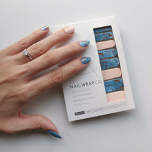 Load image into Gallery viewer, Buy Legend of the Blue Sea Nail Polish Wraps at the lowest price in Singapore from NAILWRAP.CO. Worldwide Shipping. Instant designer nail art manicure in under 10 minutes.