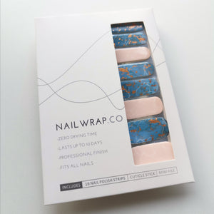 Buy Legend of the Blue Sea Nail Polish Wraps at the lowest price in Singapore from NAILWRAP.CO. Worldwide Shipping. Instant designer nail art manicure in under 10 minutes.