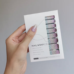 Buy Ombré Mermaid 🧜🏻‍♀️ Nail Polish Wraps at the lowest price in Singapore from NAILWRAP.CO. Worldwide Shipping. Instant designer nail art manicure in under 10 minutes.