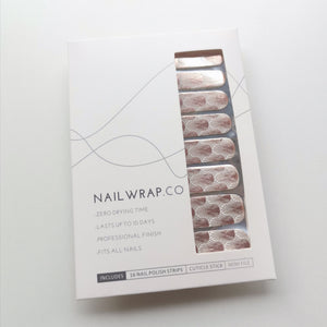 Buy Rose Gold Dandelion Overlay Nail Wraps at the lowest price in Singapore from NAILWRAP.CO. We Ship Worldwide. Over 300 designs! Instant designer nail art under 10 minutes