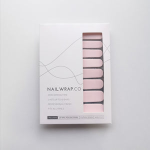 Buy Pretty in Pink (Solid) Nail Polish Wraps at the lowest price in Singapore from NAILWRAP.CO. Worldwide Shipping. Instant designer nail art manicure in under 10 minutes.