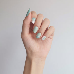 Buy Candy Mint Nail Polish Wraps at the lowest price in Singapore from NAILWRAP.CO. Worldwide Shipping. Instant designer nail art manicure in under 10 minutes.