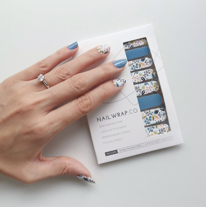 Blue Thistle Berry - NAILWRAP.CO Nail Wrap Co Nail Wraps Singapore Online SG Nail Stickers Nodspark Freshly Wrapped Freshlywrapped Emmezingnails Yaytonails Yay to Nails Nailedit-wraps Nailed it Gelato Factory Korea United States Australia Personail Itspersonail Nails Mailed Polishpops Cheap DIY Manicure Salon Gelish Acrylic Kids Happie Manufacturer Supplier Wholesale Customized Review