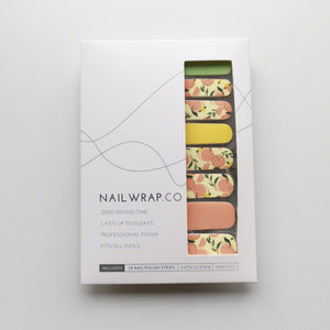 Buy Peach Please Nail Polish Wraps at the lowest price in Singapore from NAILWRAP.CO. Worldwide Shipping. Instant designer nail art manicure in under 10 minutes.