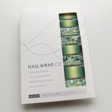Load image into Gallery viewer, Buy Jungle Fever Nail Polish Wraps at the lowest price in Singapore from NAILWRAP.CO. Worldwide Shipping. Instant designer nail art manicure in under 10 minutes.