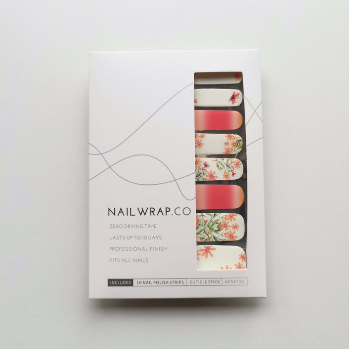 Buy Butterfly Blooms Nail Polish Wraps at the lowest price in Singapore from NAILWRAP.CO. Worldwide Shipping. Instant designer nail art manicure in under 10 minutes.