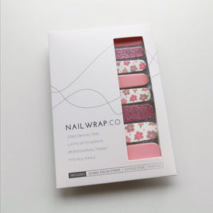 Buy Pink Flower Dream Nail Polish Wraps at the lowest price in Singapore from NAILWRAP.CO. Worldwide Shipping. Instant designer nail art manicure in under 10 minutes.