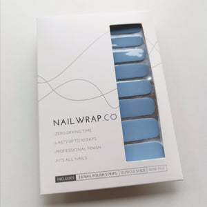 Buy Serene Sea (Solid) Nail Polish Wraps at the lowest price in Singapore from NAILWRAP.CO. Worldwide Shipping. Instant designer nail art manicure in under 10 minutes.