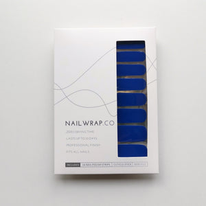 Buy Cobalt Blue (Solid) Nail Polish Wraps at the lowest price in Singapore from NAILWRAP.CO. Worldwide Shipping. Instant designer nail art manicure in under 10 minutes.