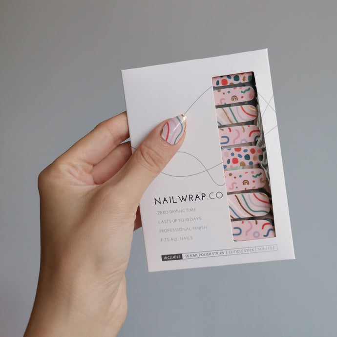 Buy Confetti Party Nail Polish Wraps at the lowest price in Singapore from NAILWRAP.CO. Worldwide Shipping. Instant designer nail art manicure in under 10 minutes.