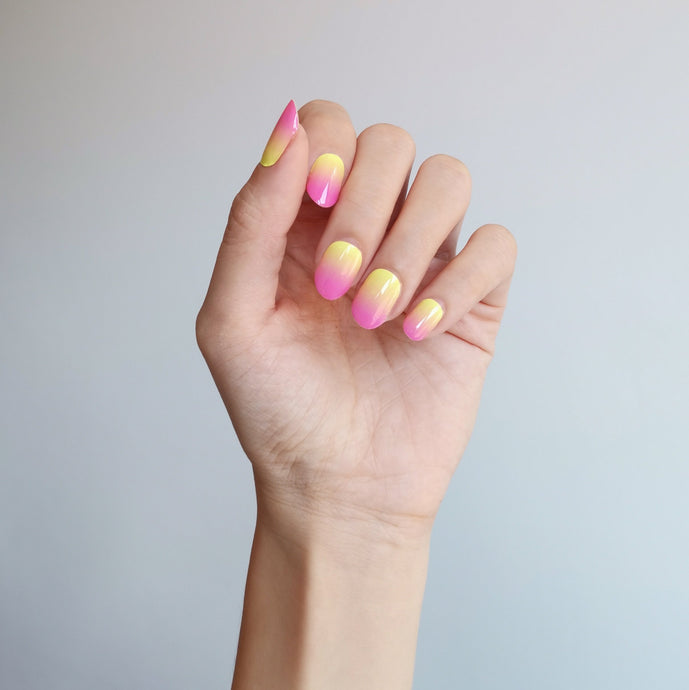 Buy Pink Lemonade Nail Polish Wraps at the lowest price in Singapore from NAILWRAP.CO. Worldwide Shipping. Instant designer nail art manicure in under 10 minutes.