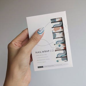Buy Rocky Lagoon Nail Polish Wraps at the lowest price in Singapore from NAILWRAP.CO. Worldwide Shipping. Instant designer nail art manicure in under 10 minutes.