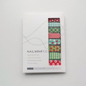 Strawberry Fields - NAILWRAP.CO Nail Wrap Co Nail Wraps Singapore Online SG Nail Stickers Nodspark Freshly Wrapped Freshlywrapped Emmezingnails Yaytonails Yay to Nails Nailedit-wraps Nailed it Gelato Factory Korea United States Australia Personail Itspersonail Nails Mailed Polishpops Cheap DIY Manicure Salon Gelish Acrylic Kids Happie Manufacturer Supplier Wholesale Customized Review