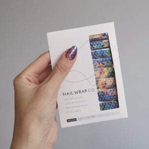 Buy Colorful Triangles Nail Polish Wraps at the lowest price in Singapore from NAILWRAP.CO. Worldwide Shipping. Instant designer nail art manicure in under 10 minutes.