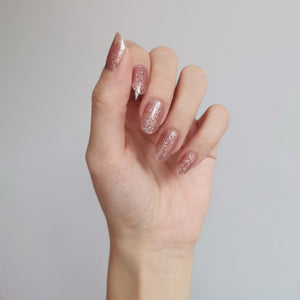 Buy Rose Gold (Glitter) Nail Polish Wraps at the lowest price in Singapore from NAILWRAP.CO. Worldwide Shipping. Instant designer nail art manicure in under 10 minutes.