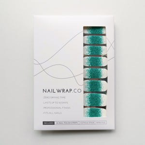 Buy Frost Emerald Glitter Nail Polish Wraps at the lowest price in Singapore from NAILWRAP.CO. Worldwide Shipping. Instant designer nail art manicure in under 10 minutes.