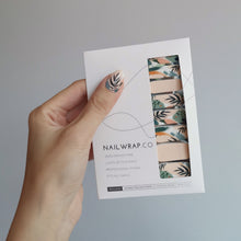 Load image into Gallery viewer, Buy Secret Garden Nail Wraps at the lowest price in Singapore from NAILWRAP.CO. We Ship Worldwide. Over 300 designs! Instant designer nail art under 10 minutes