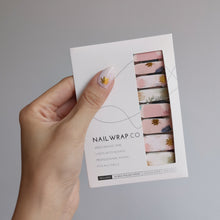 Load image into Gallery viewer, Buy Leafy Meadow Nail Polish Wraps at the lowest price in Singapore from NAILWRAP.CO. Worldwide Shipping. Instant designer nail art manicure in under 10 minutes.